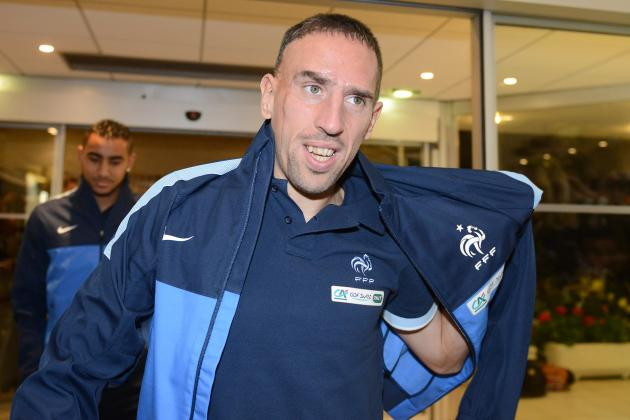Franck Ribery 'Confident' He Will Beat Cristiano Ronaldo to the Ballon d'Or