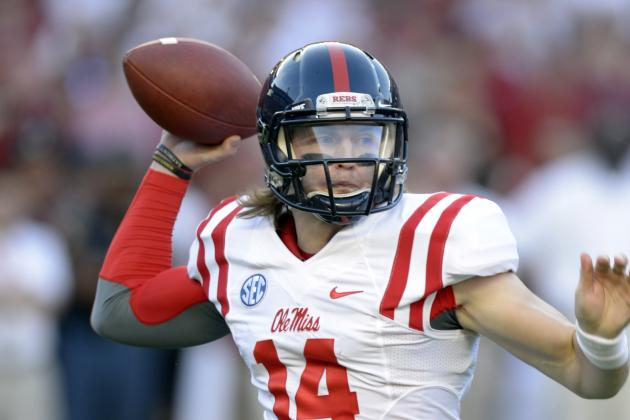 Ole Miss vs. Mississippi State: TV Info, Spread, Injury Updates, Game Time, More