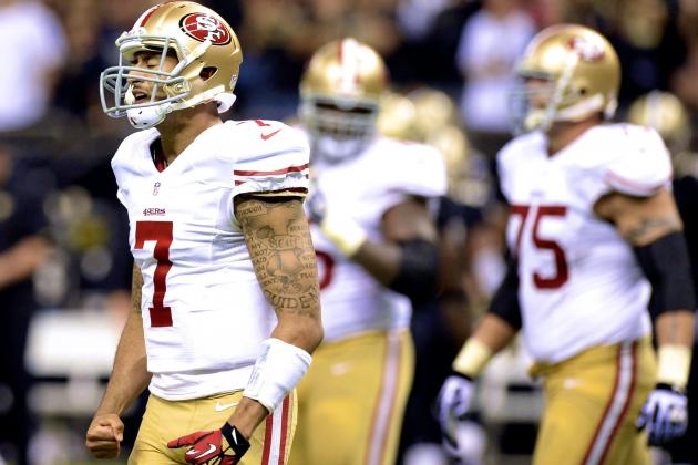Colin Kaepernick Showing Signs of Life, but Still Lacks Consistency