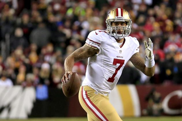 Colin Kaepernick Posts Career High QB Rating