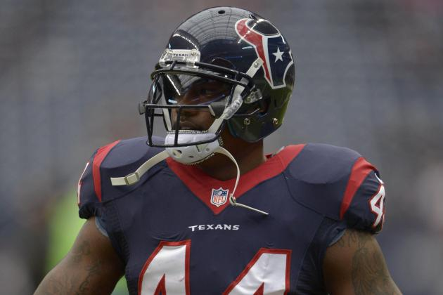 Tate Will Continue to Be Texans' Main Running Back