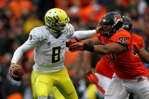 Oregon State vs. Oregon: TV Info, Spread, Injury Updates, Game Time and More