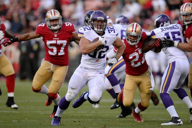Toby Gerhart Emerging as Solid 2nd Option at RB for the Minnesota Vikings