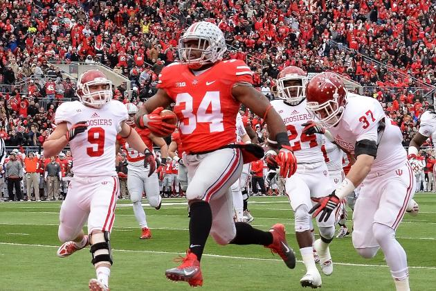 Ohio State Football: Is Carlos Hyde Among the Best to Play for the Buckeyes?