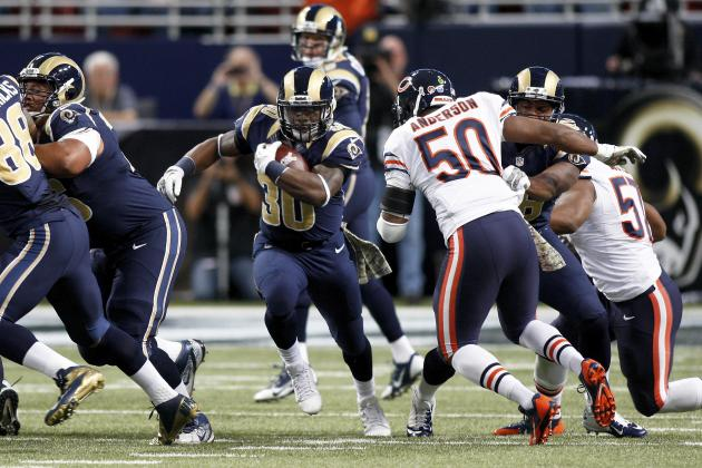 Slumping Run Defense Will Be Big Trouble for Chicago Bears Down the Stretch