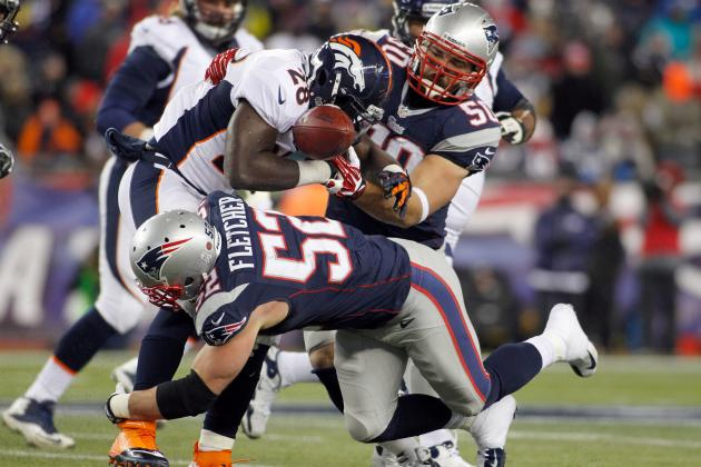 Dane Fletcher Filling Coverage Void for Patriots Defense