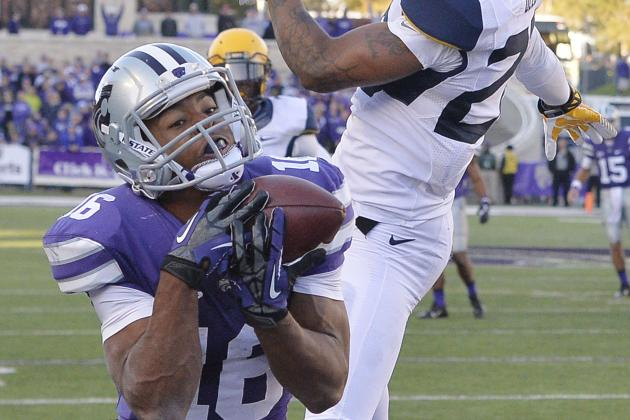 Tyler Lockett's Record-Setting Day Not Enough as Kansas State Falls to Oklahoma