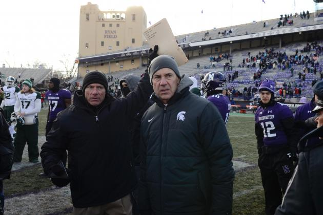Big Ten Notebook: Michigan State's Mark Dantonio Begins BCS Lobbying