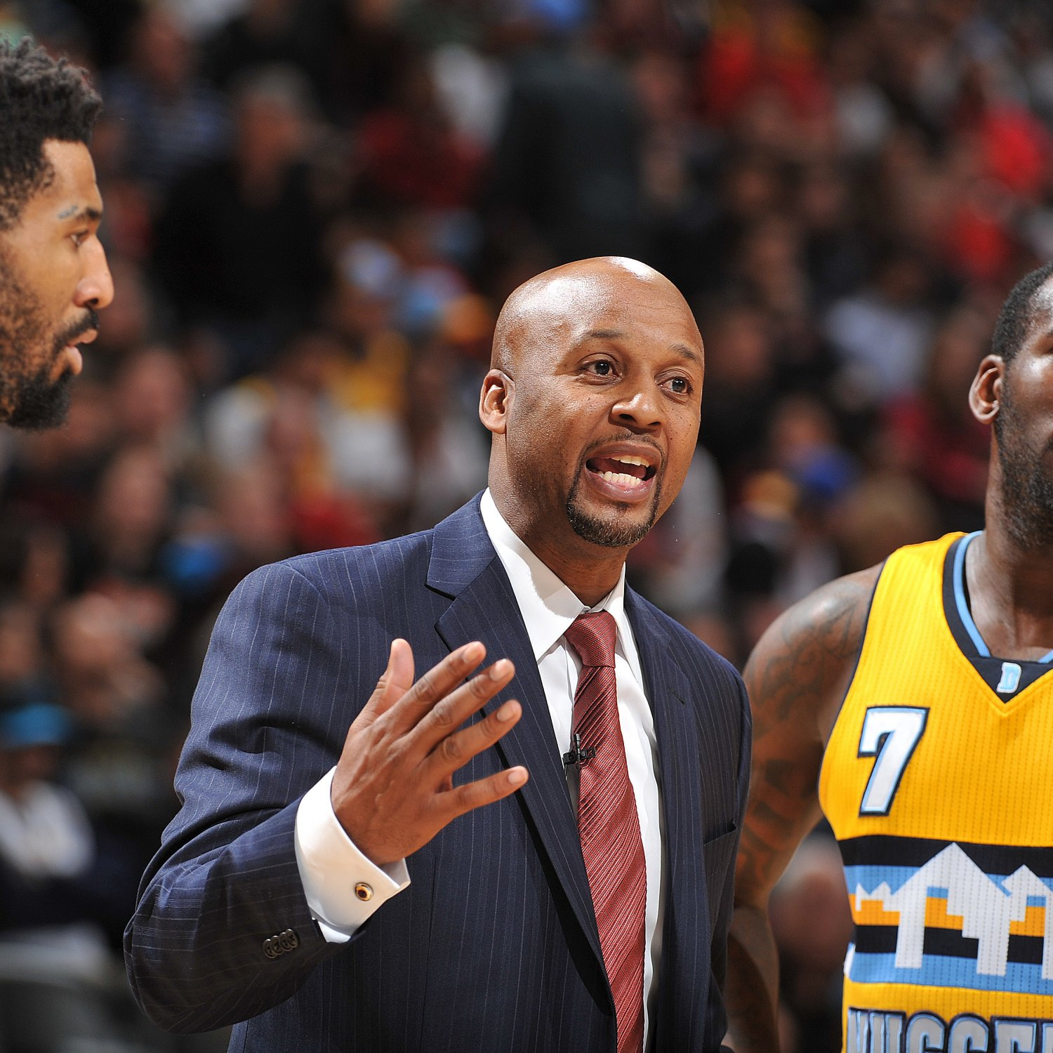 Denver Nuggets Quotes: Denver Nuggets Allowed To Hit Brian Shaw In Head To