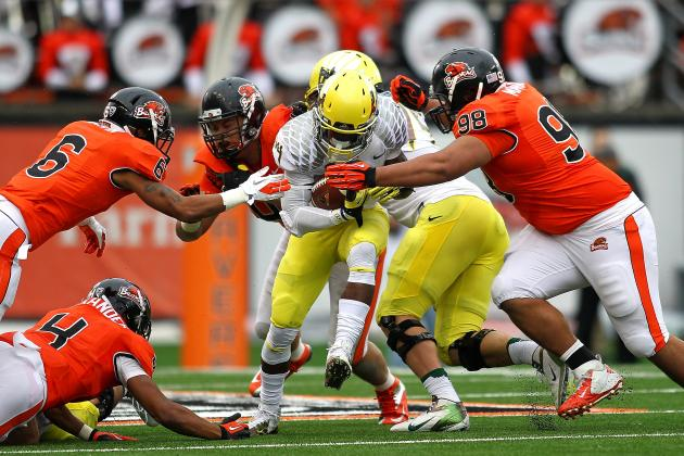 Oregon and Oregon State Both Limping into the Civil War