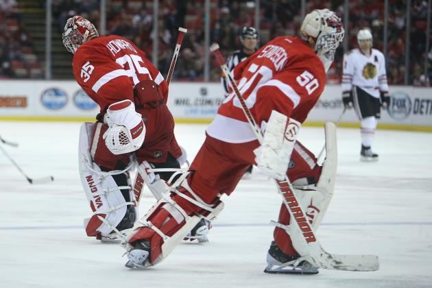 Is a Goalie Controversy Brewing for the Detroit Red Wings?