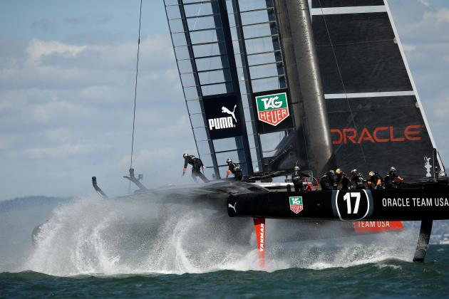 Oracle's Foiling Secrets Revealed in America's Cup 2013