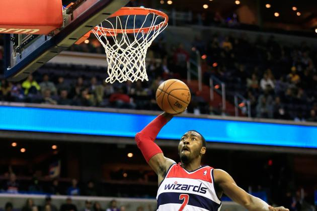 Watch John Wall Make 360 Dunk Against L.A. Lakers