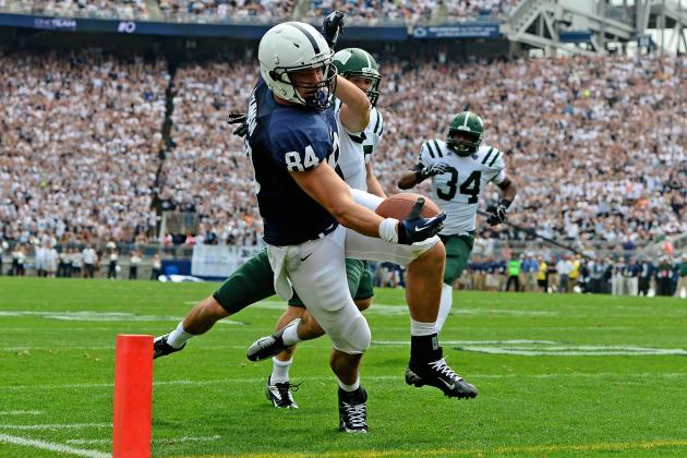 Injured Penn State Tight End Matt Lehman Is Determined to Play Again