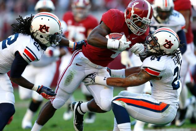 Alabama Crimson Tide vs. Auburn Tigers: Iron Bowl Betting Odds, Prediction