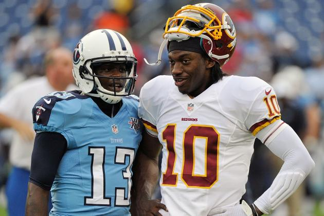 Kendall Wright: RG3 Is Putting a Lot of Pressure Onhimself