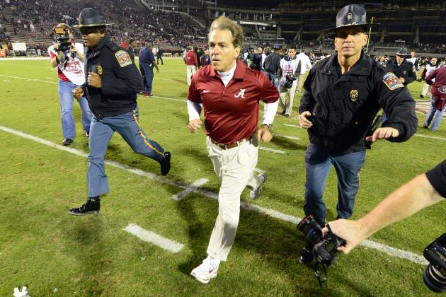 Alabama vs. Auburn: Iron Bowl Offers Chance at Defining Moment for Both Coaches