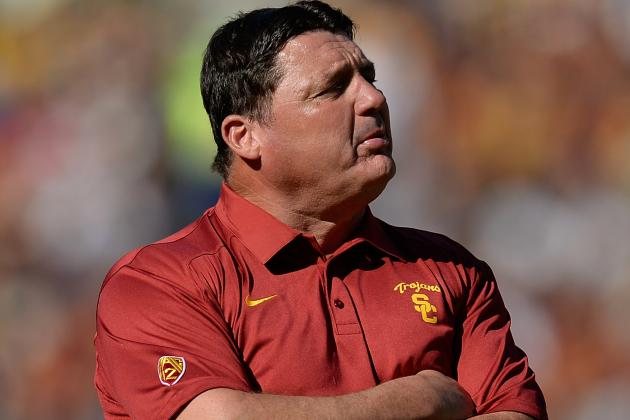 New Twist in Rivalry Between USC's Ed Orgeron and UCLA's Noel Mazzone