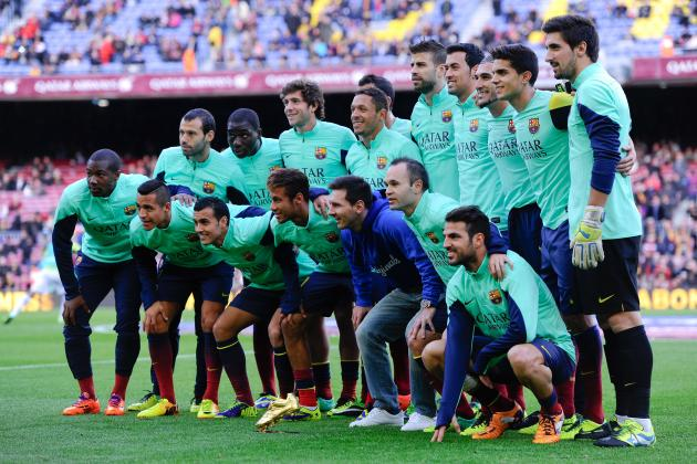 How Barcelona Will Line Up Against Athletic Bilbao