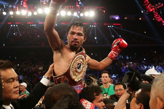 Manny Pacquiao's Bank Accounts Frozen in Philippines over '£31m Unpaid Tax'