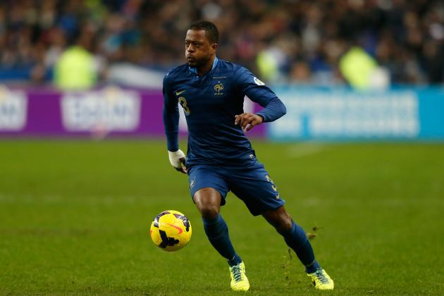Transfer Rumour Rater: Patrice Evra to PSG in the Summer Window