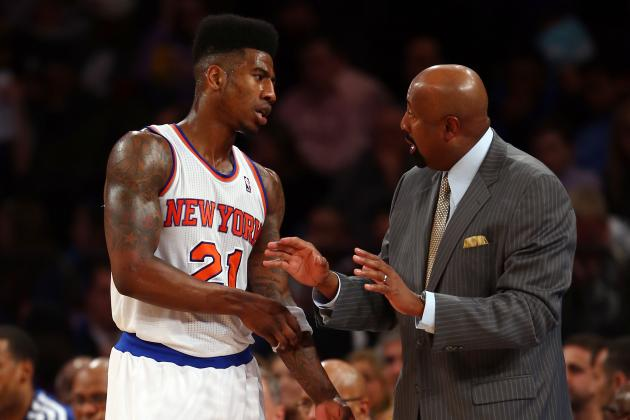 Mike Woodson Says He Likes Iman Shumpert Just Fine