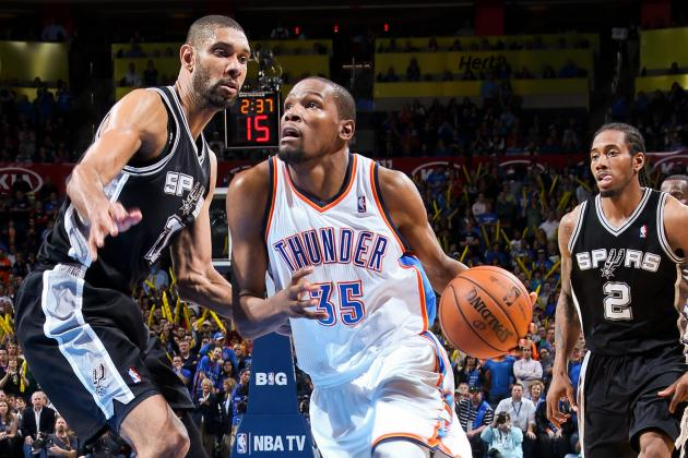 Spurs vs. Thunder: What to Watch in 1st Clash Between Western Conference Giants