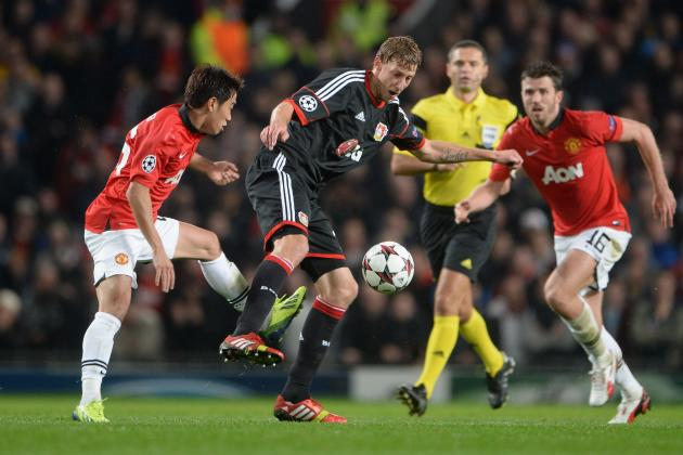 Bayer Leverkusen vs. Manchester United: Champions League Live Score, Highlights
