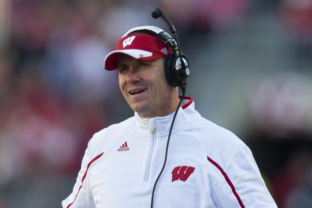 Wisconsin's Gary Andersen Impressed by 'Devoted Kids' That Stayed at PSU