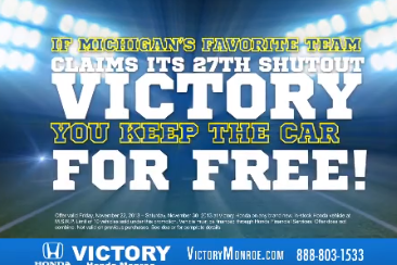 Local Car Dealer to Give out Free Cars If Michigan Shuts Out Ohio State