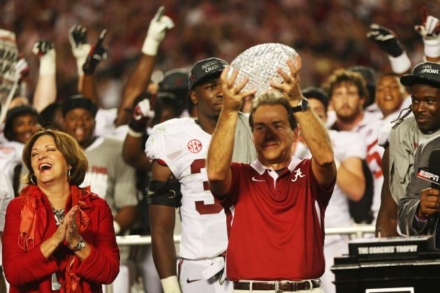 Nick Saban's Odds of Finishing Career at Alabama Enhanced by Wife's Testimony