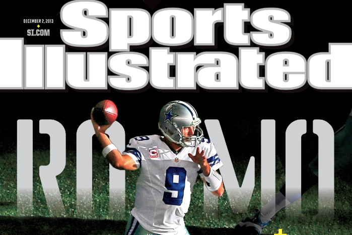 Tony Romo Called 'America's Whipping Boy' on 'Sports Illustrated' Cover