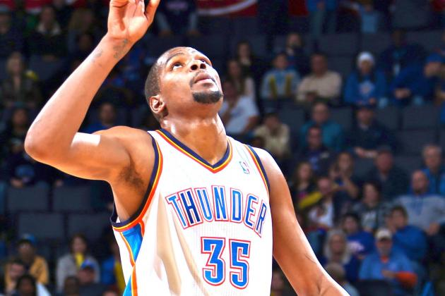 Kevin Durant Doesn't Take a Day Off, Plays Ball at YMCA Day After Win