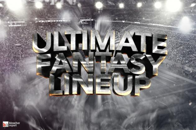 Ultimate Fantasy Football Week 12 Lineup