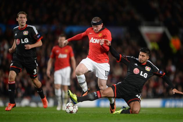 Bayer Leverkusen vs. Manchester United: Live Player Ratings for Utd
