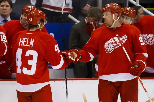 Helm, Franzen Catching on After Injuries
