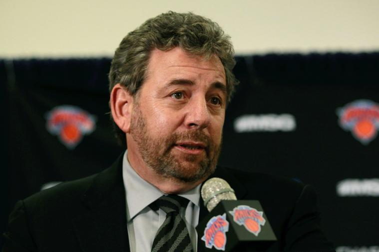 Upset Knicks Fans Hack Owner James Dolan's Wikipedia Page