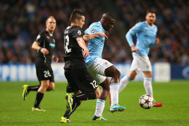 Manchester City vs. Viktoria Plzen: Live Score, Highlights, Recap