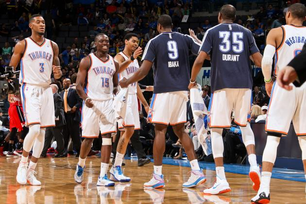 OKC Thunder's Young Bench Will Determine Contender Status