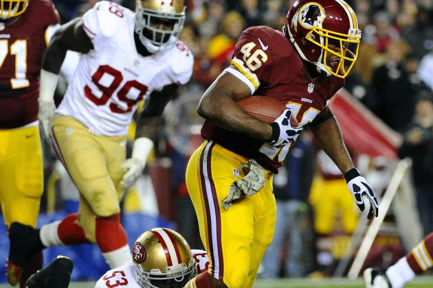 What to Expect from Alfred Morris, Washington Redskins Offense in Week 13