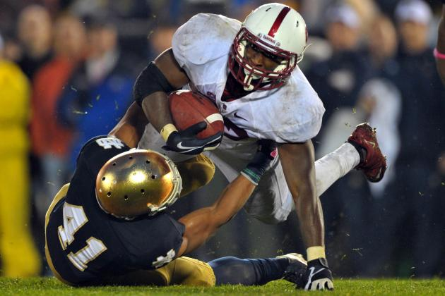 Notre Dame vs. Stanford: Cardinal Will Run Wild and Avenge 2012 Loss to Irish