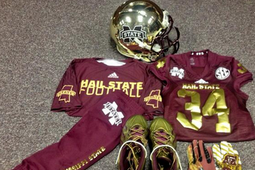 Miss State Going Gold Chrome for Egg Bowl
