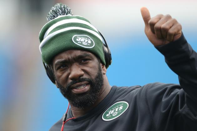 Jets' Ed Reed Just Found out Fireman Ed Is Gone and He Can't Believe It