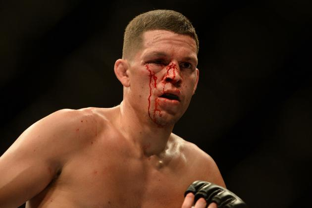 TUF 18 Finale: Nate Diaz Relaxed, Focused on Getting Win over Gray Maynard
