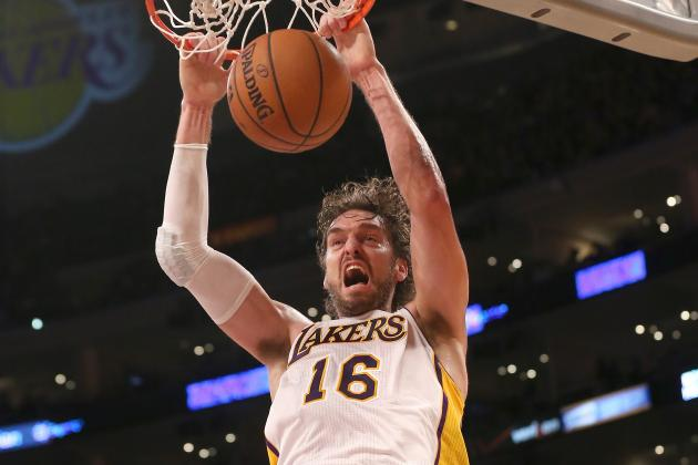 Pau Gasol Becomes Second-Highest-Scoring European in NBA History