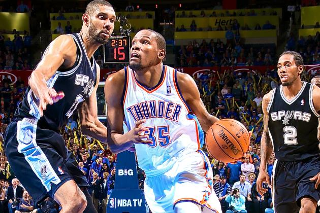 San Antonio Spurs vs. Oklahoma City Thunder: Live Score and Analysis