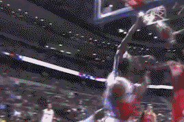 Rodney Stuckey Throws It Down on the Chicago Bulls