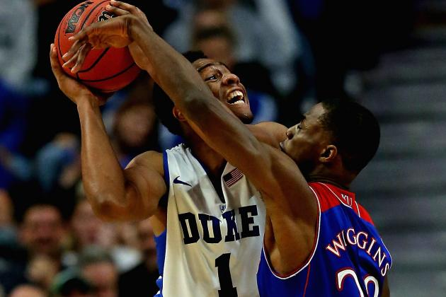 Andrew Wiggins Must Improve Defense at Kansas to Become Complete Package