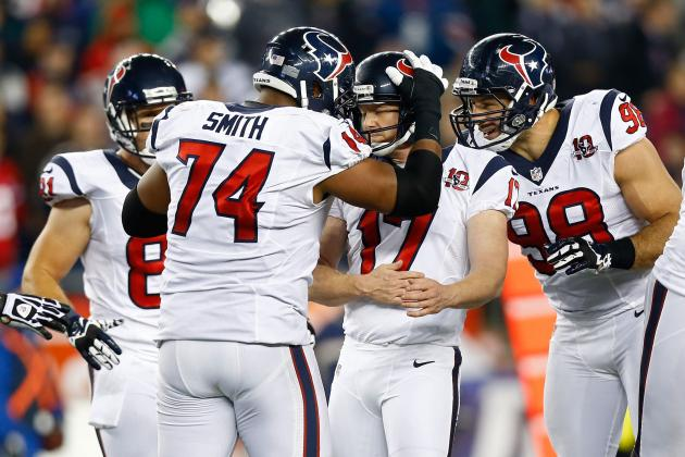 New England Patriots vs. Houston Texans: Breaking Down Houston's Game Plan