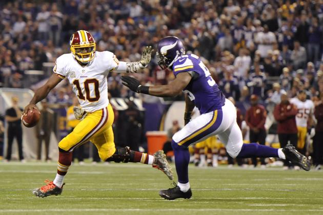 Breaking Down Robert Griffin III's Struggles Against the Blitz